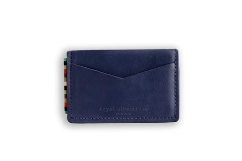 The Wanderer Card Holder Navy