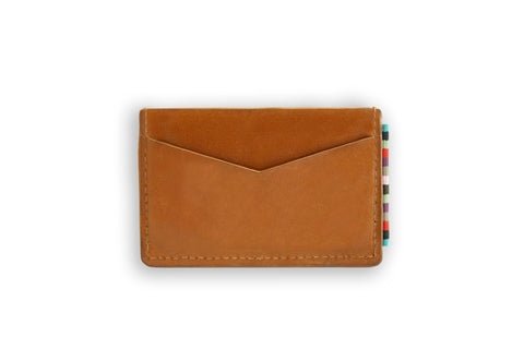 The Wanderer Card Holder Tan