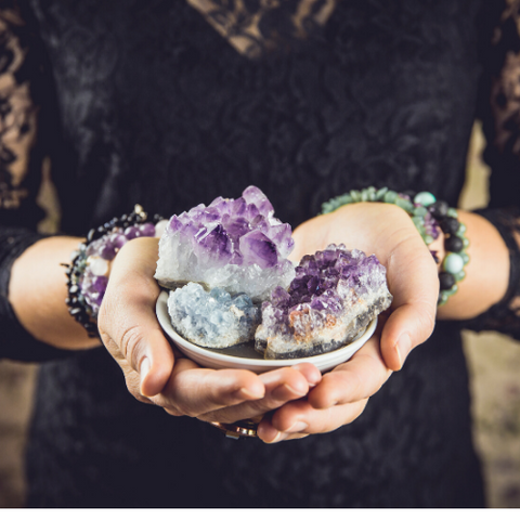 How To Cleanse Your Crystals Properly and Set Intentions