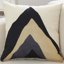 "Art Line Decorative Pillow Cover 18"" x 18"" (Zippered)"
