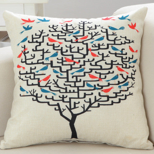 Art Line Decorative Pillow Cover 18