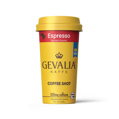 2 oz coffee shot, Gevalia