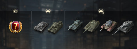 World of Tanks Bonus Bundle - Current Tankers (PC)