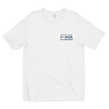 Men's Short Sleeve T-shirt, small logo - Cotton