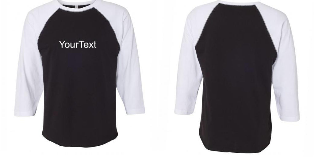 LAT 3/4 Sleeve Baseball Tees 6930 - Direct To Garment