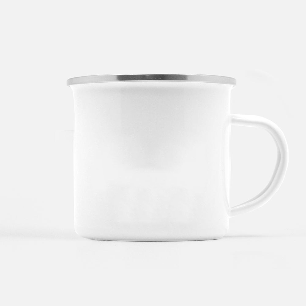 Personalized White Camp Mug