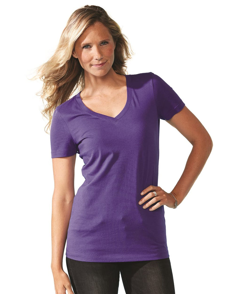 Next Level Womens Ideal V-Neck 1540 - Screen Printing
