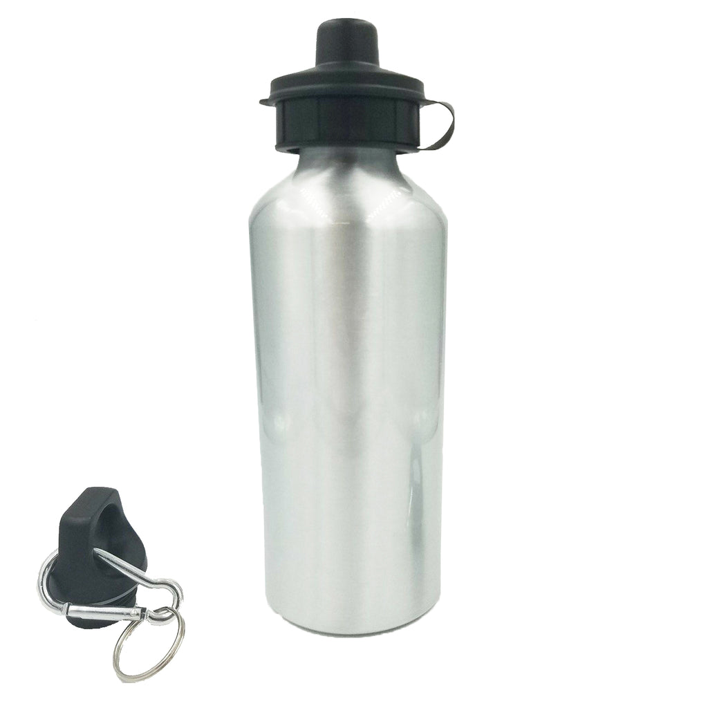 Wholesale 20 oz Silver Aluminum Water Bottle - Silver