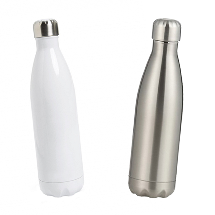 Personalized Tapered Stainless Steel Water Bottle