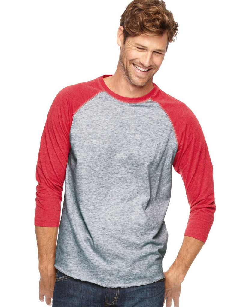 LAT 3/4 Sleeve Baseball Tees Direct To Garment - 6930