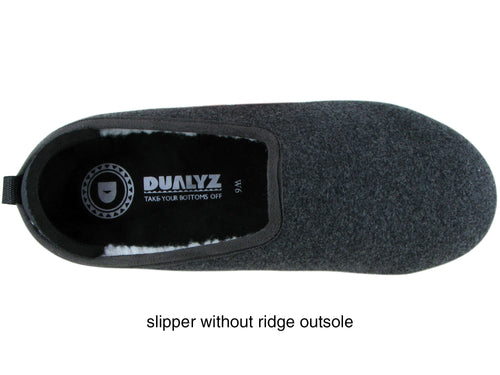 Kush Slipper Dark Grey