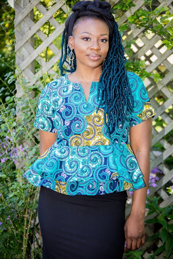Egbe- Double peplum Top
