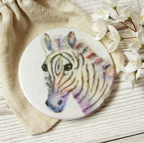 Zebra Pocket Mirror