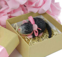 Needle Felted Rat