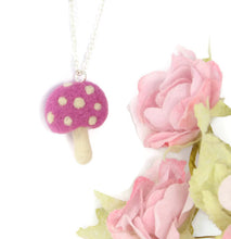 Mini Toadstool Necklace