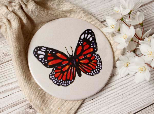 Butterfly Pocket Mirror