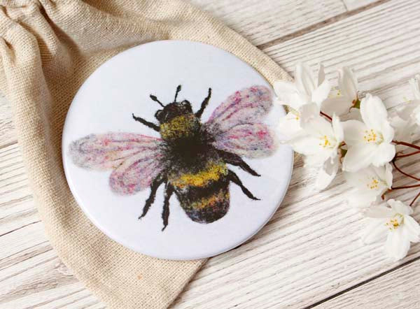 Bee Pocket Mirror