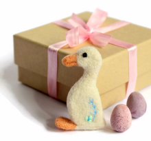 Needle Felted Duck Brooch