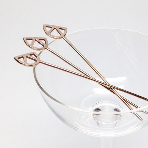 CITRUS COCKTAIL PICKS - SET OF 4