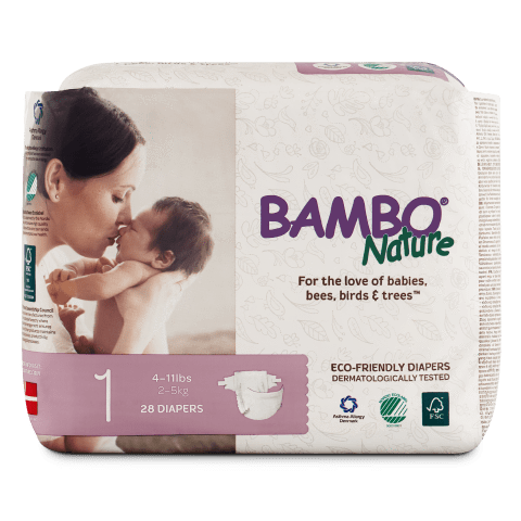 Nature Disposable Baby Diapers [Eco-Friendly]