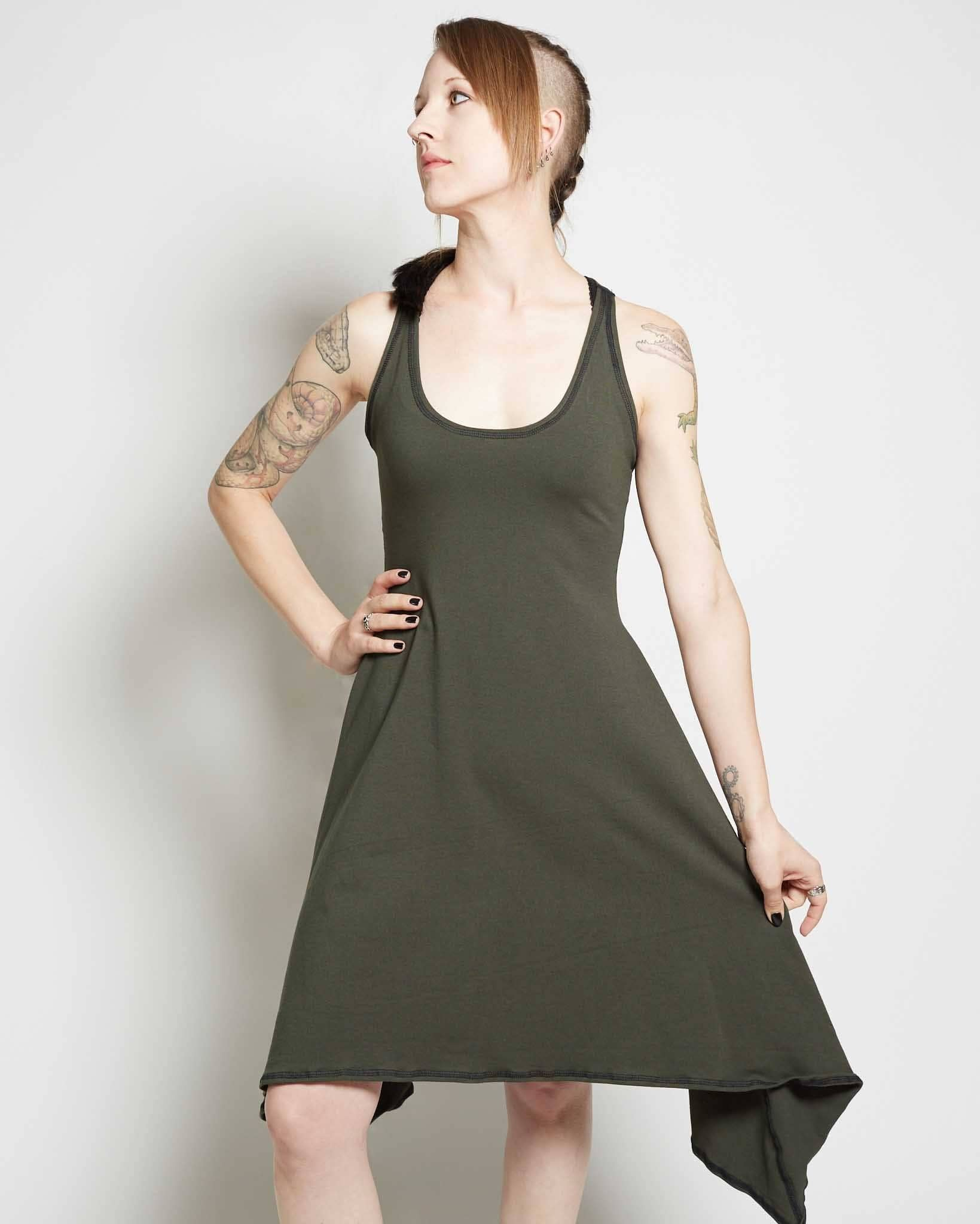 futuristic clothing for women jersey dress