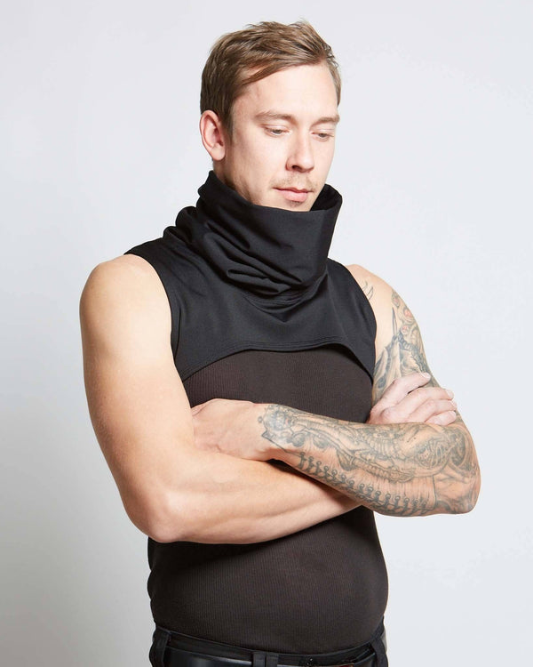 neck and face warmer for men and women, handmade