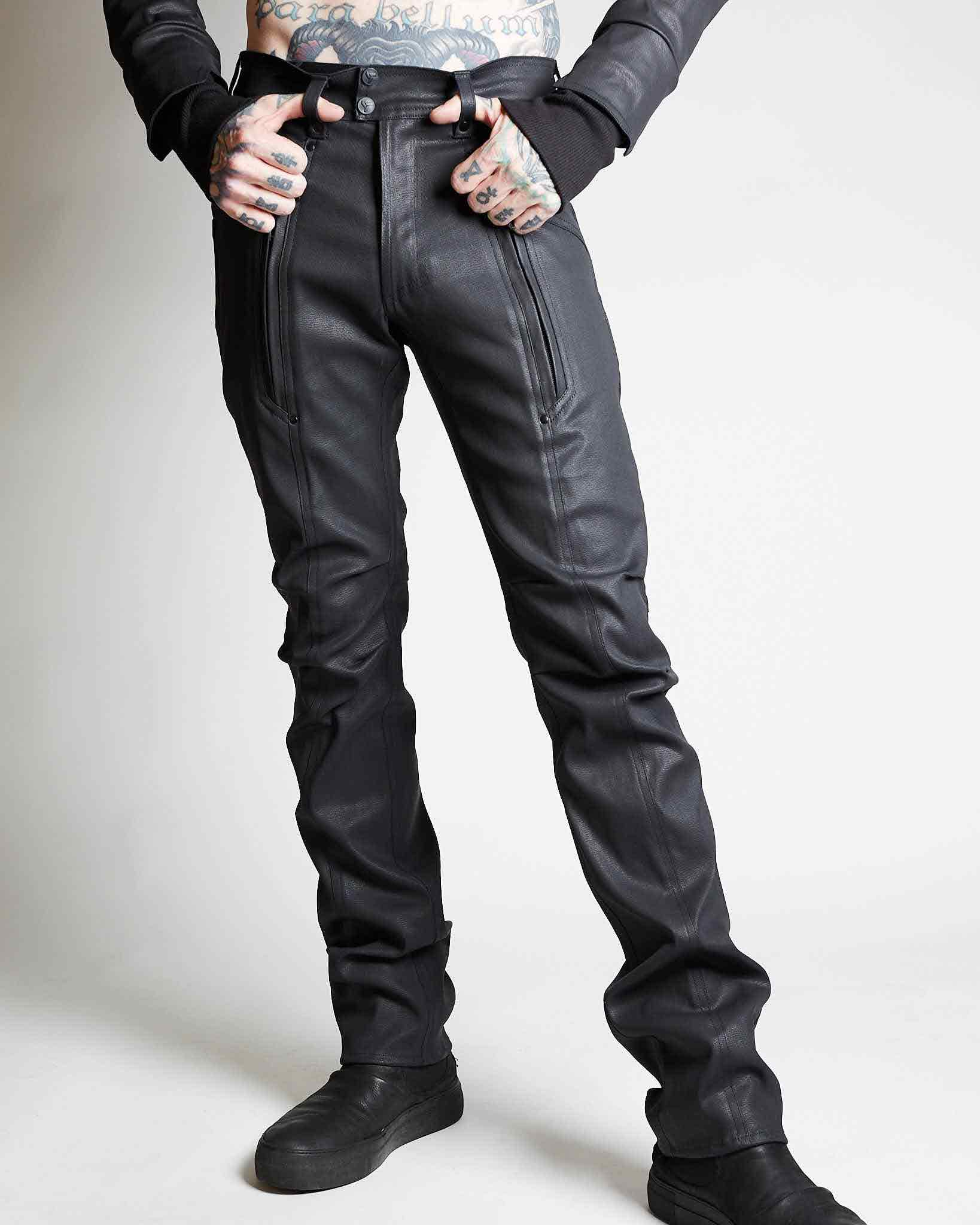 designer cargo pants in cyberpunk fashion