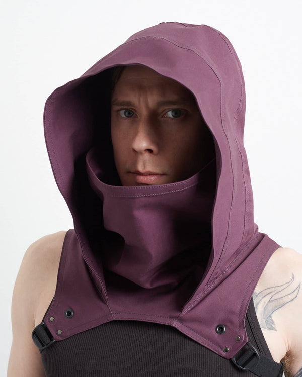 Plum Cowl - Crisiswear Clothing