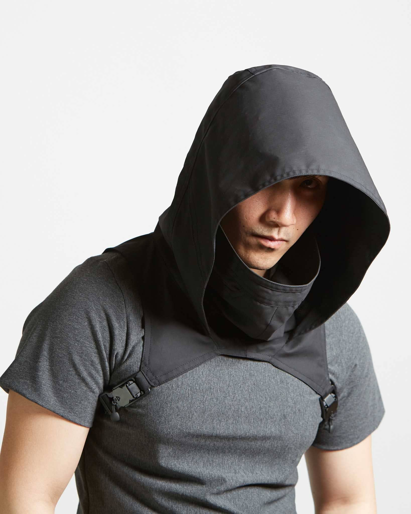 handmade modern adjustable hood for men and women