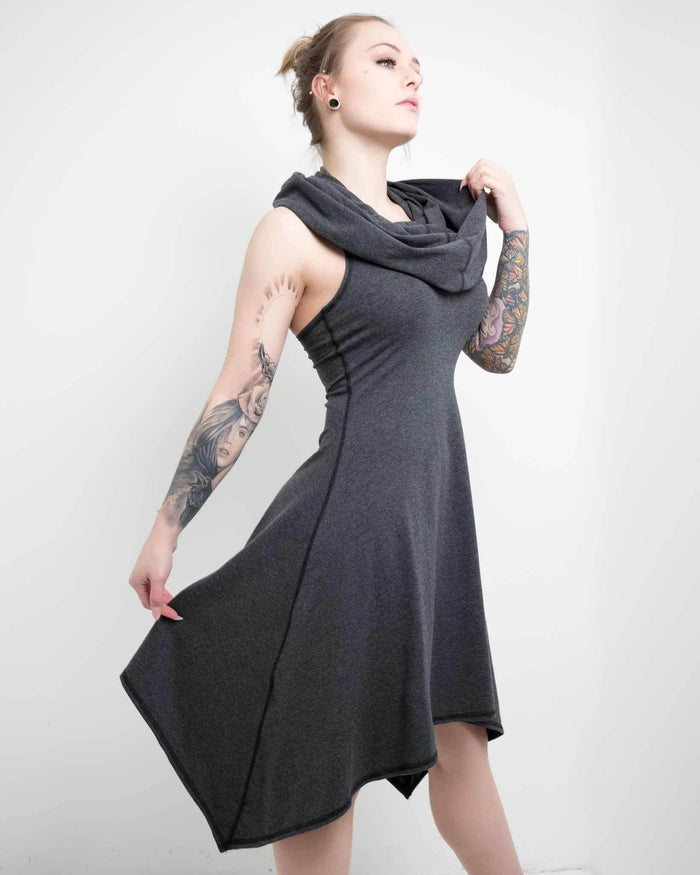 form fitting jersey dress