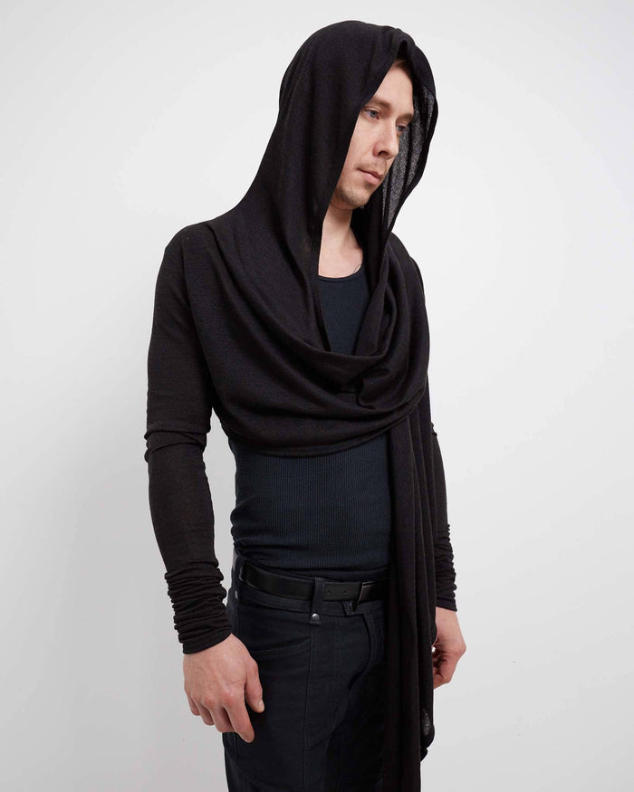 cyberpunk black shrug