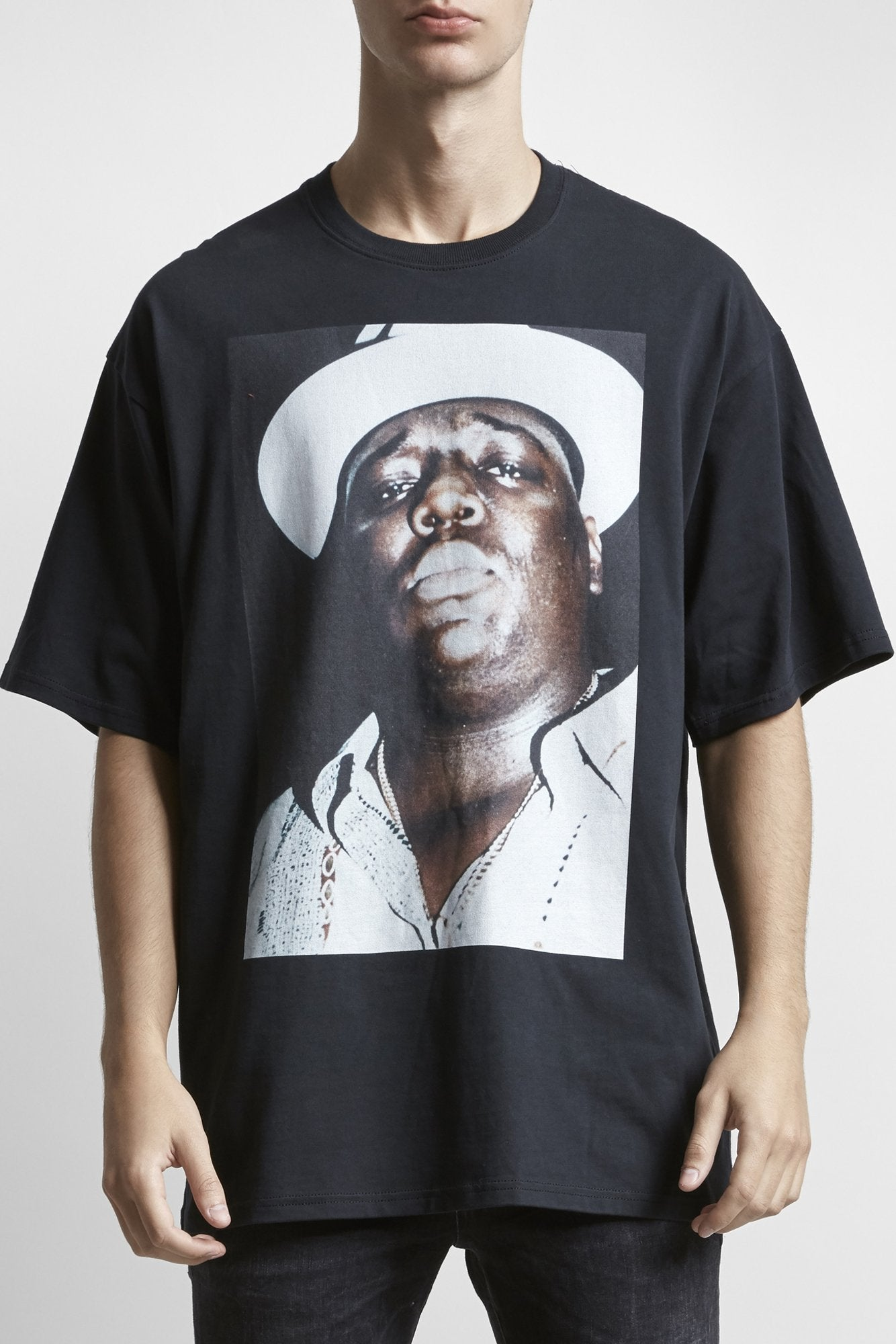Biggie Hat Oversized T - Vintage Black
