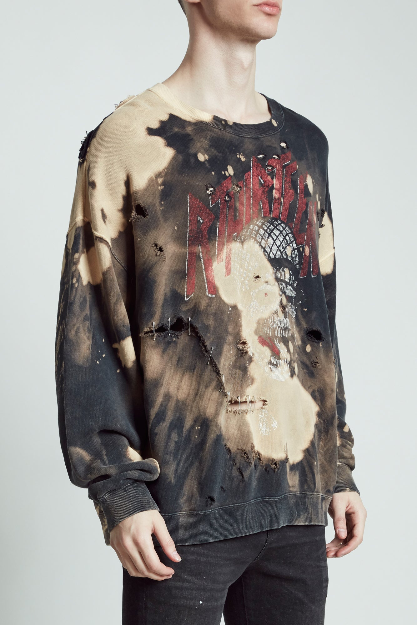 Battle Punk Oversized Crewneck