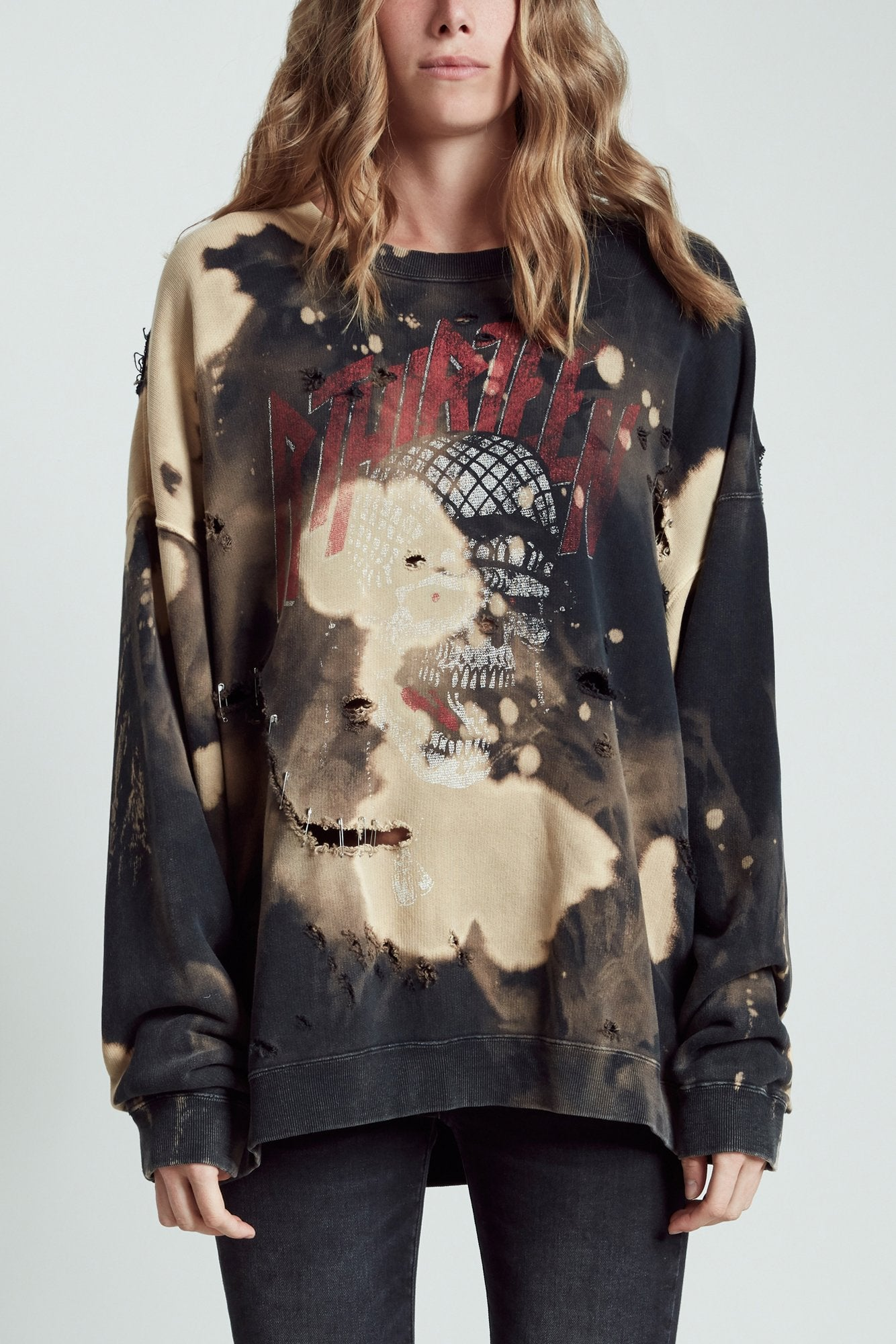 Battle Punk Oversized Crewneck - Bleach