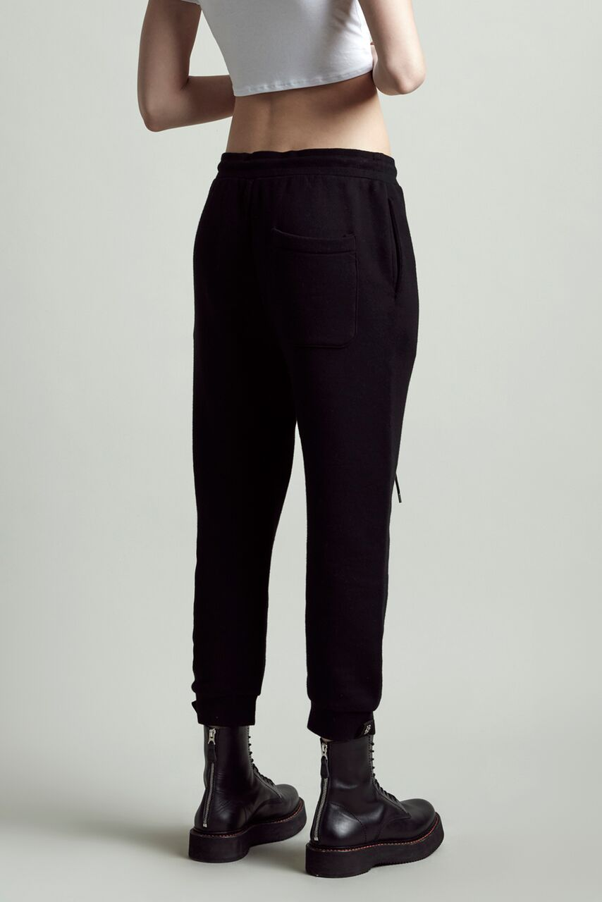 SOLID LARS PANT - BLACK