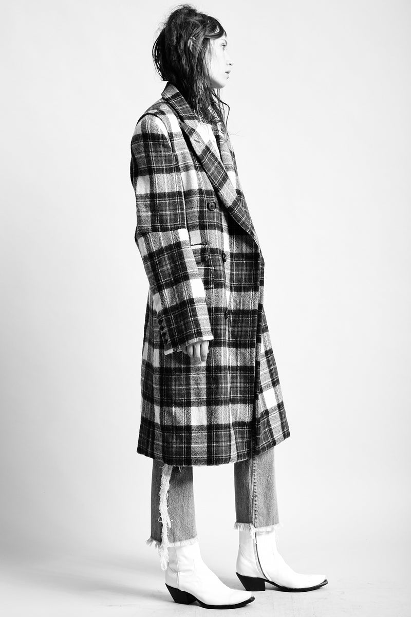 Kendall Coat - Plaid