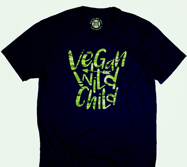 Vegan Wild Child Tee