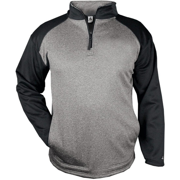 Heather 1/4 Zip