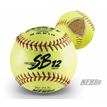 SB12 NFHS Leather Softball