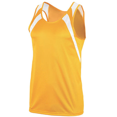 WICKING TANK WITH SHOULDER INSERT - YOUTH