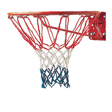 4MM ECONOMY BASKETBALL NET RED/WHITE/BLUE (405)