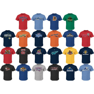 MiLB Replica 50/50 Tees (Youth and Plus Sizing)