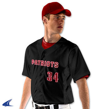 Reliever Full Button Baseball Jersey