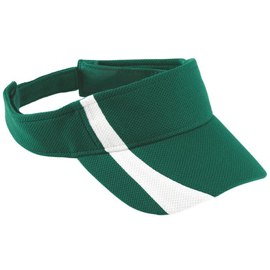 ADJUSTABLE WICKING MESH TWO-COLOR VISOR - YOUTH
