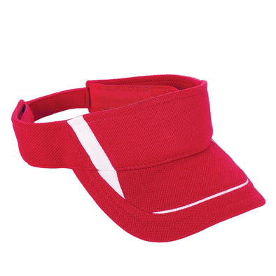 ADJUSTABLE WICKING MESH EDGE VISOR - YOUTH