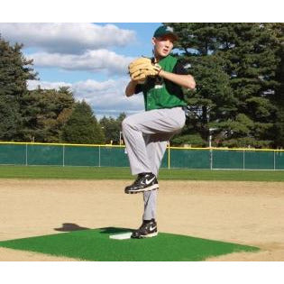 "ProMounds 6"" Green Bronco Pitching Mound"