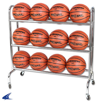 BALL RACK WITH CASTERS