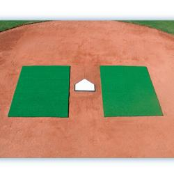 Turf Batter's Mats-Green 3' x 7'