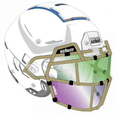 Football Helmet Splash Shield