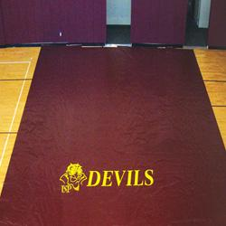 Deluxe Gym Floor Covers - 18 oz.